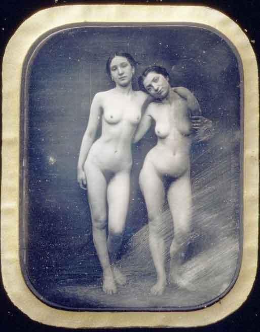Первое эротическое фото 1950г.