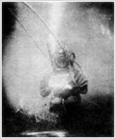 Первый подводный снимок 1893г.
