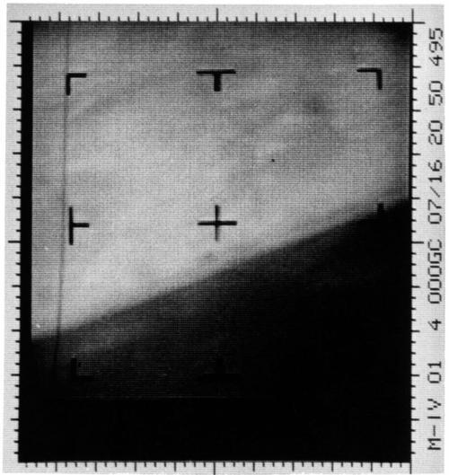 Первый снимок Марса 1965г.