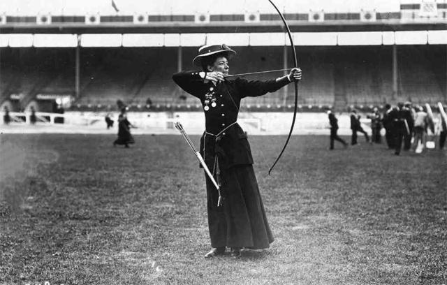 Олимпиада в Лондоне 1908 года. Стрельба из лука.