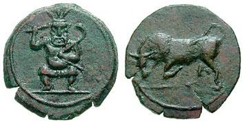 монетки с острова Беса