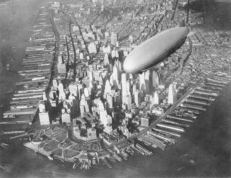Akron ZRS-4 дирижабль airship