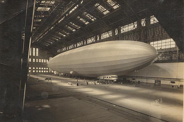 ZR-3 Los Angeles LZ 126 airship дирижабль