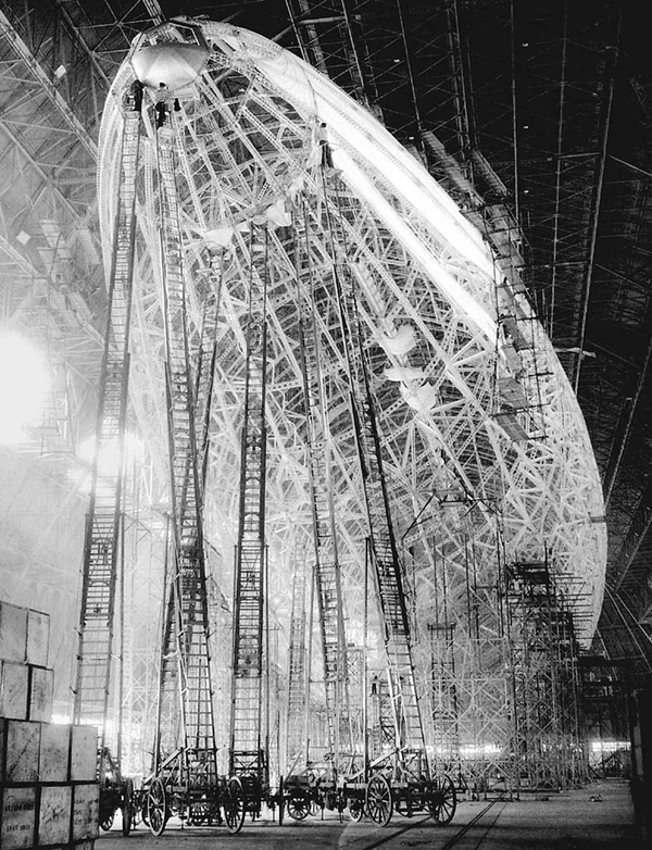 Macon ZRS-5 дирижабль airship