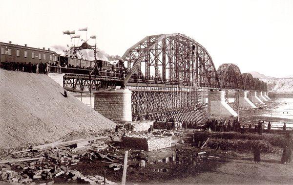 Железнодорожный мост через Енисей (Красноярск)