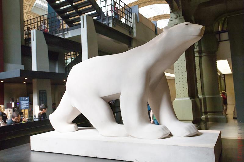 L'ours blanc de François Pompon Белый Медведь Франсуа Помпон