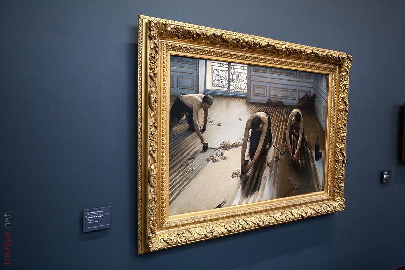 Музей Орсе Musée d'Orsay Кайботт Паркетчики