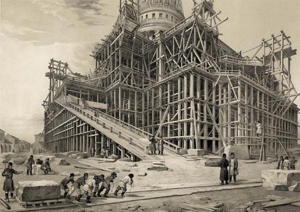 Исаакиевский собор строительство