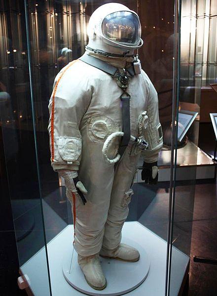 Скафандр «Беркут». Мемориальный музей космонавтики. Москва