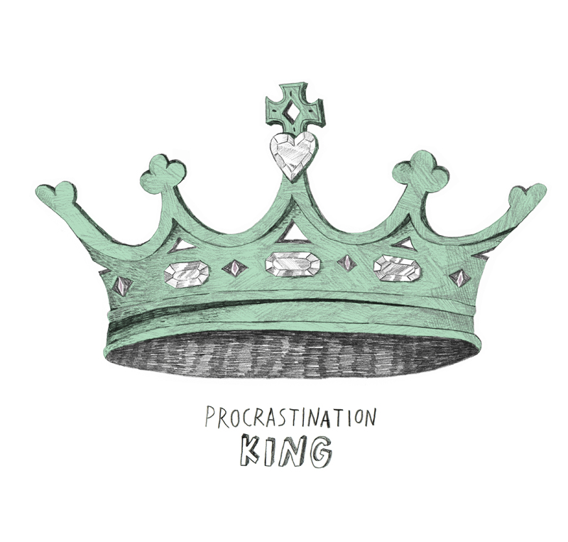 кроль прокрастинации | procrastination king